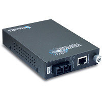 TRENDnet TFC-110S60 - 100Base-TX to 100Base-FX Single Mode SC Fibre Converter