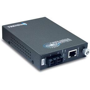 TRENDnet TFC-110S60 - 100Base-TX to 100Base-FX Single Mode SC Fibre Converter