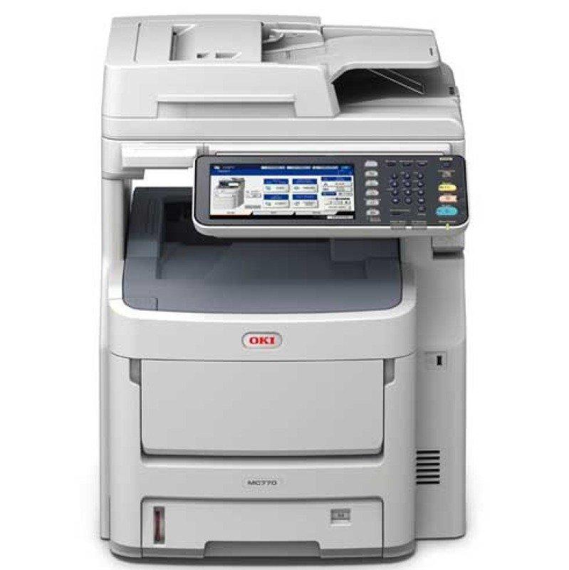 OKI MC770DNFAX A4 Colour Laser Multifunction Printer