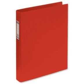 Elba A4 25mm Red Ring binder