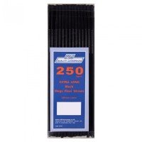 Black Flexi Straws pack 250