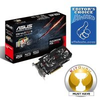 Asus R9 270 2GB GDDR5 Dual DVI HDMI DisplayPort PCI-E Graphics Card