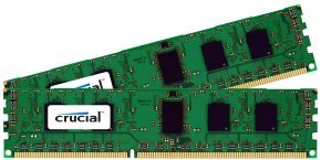 Crucial 4GB kit (2GBx2) DDR3 1600 MT/s (PC3-12800) CL11 Unbuffered UDIMM 240pin