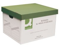 Q Connect Business El Mega-store Box - 10 Pack