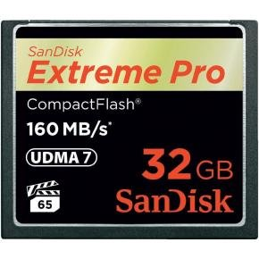 SanDisk 32GB Extreme Pro 160MB/s CompactFlash Card