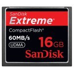 SanDisk Extreme 16GB CompactFlash Memory Card