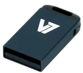 V7 32GB USB 2.0 Nano Flash Drive (Black)