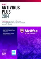 Mcafee Antivirus Plus 2014 3 User -Electronic Download