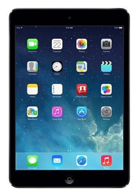 Apple iPad Mini With Retina Display A7 chip 32GB Flash 1GB RAM 7.9&quot Retina Touch WIFi Cellular Bluetooth Apple iOS 9  Space Grey