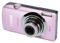 Canon Ixus 210 Digital Camera - Pink