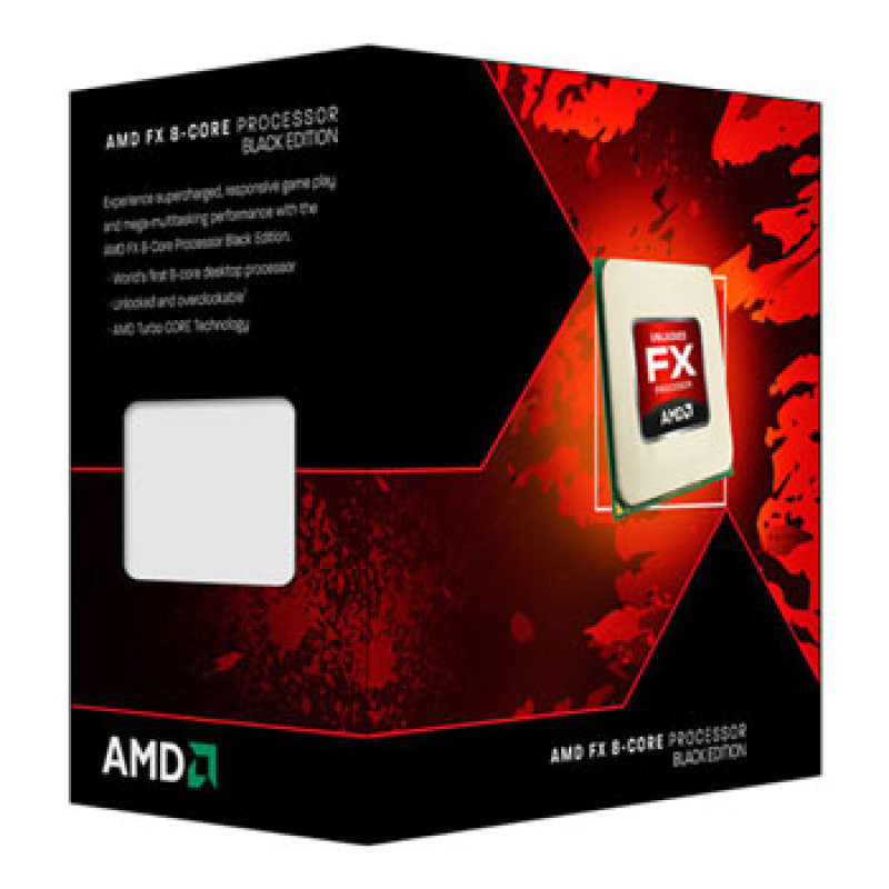 EXDISPLAY AMD FX-8350 4GHz Socket AM3+ 8MB Cache Retail Boxed Processor