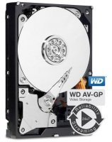 "WD AV 4TB 3.5"" SATA Media Hard Drive"