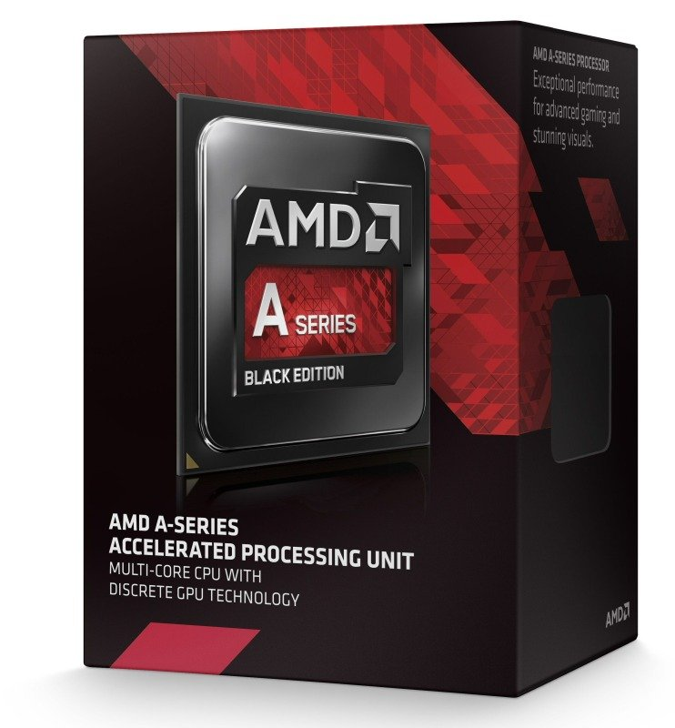 Image of AMD A10 7850K Black Edition 3.7GHz Socket FM2+ APU 4MB Cache Retail Boxed Processor