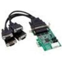 StarTech.com 4 Port Low Profile Native RS232 PCI Express Serial Card with 16950 UART