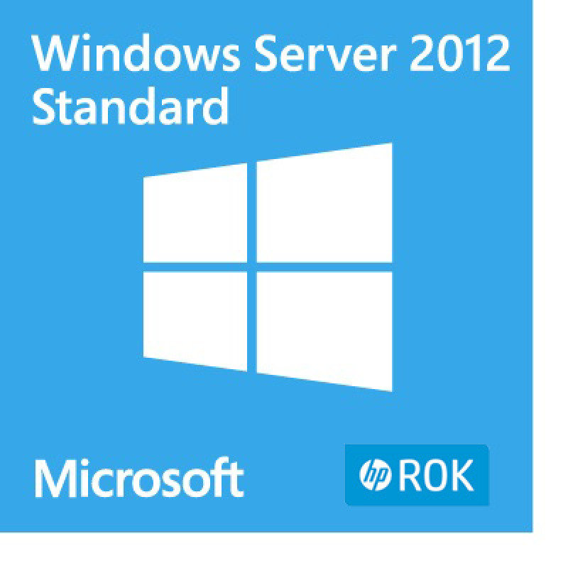 Windows Server 2012- Standard Edition (HPE ROK)