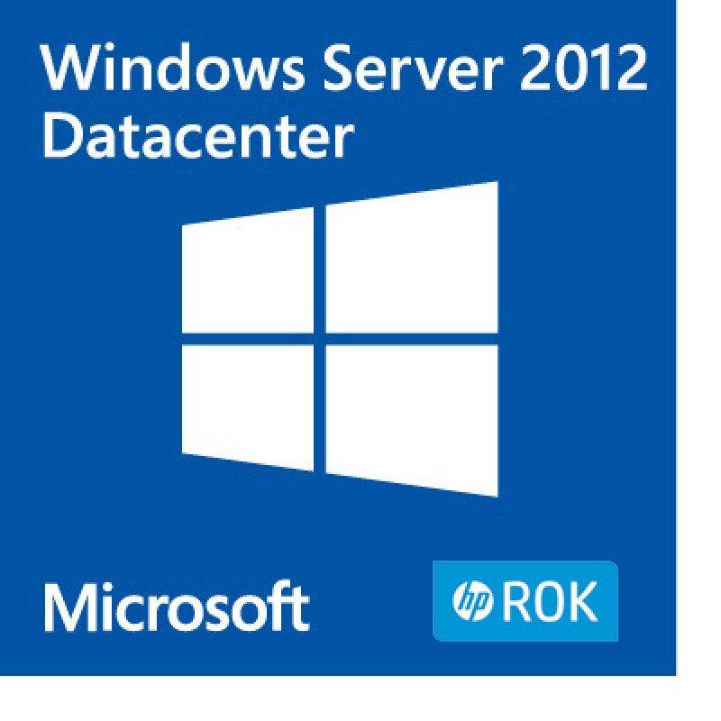 Windows Server 2012 - Datacenter Edition (HPE ROK)