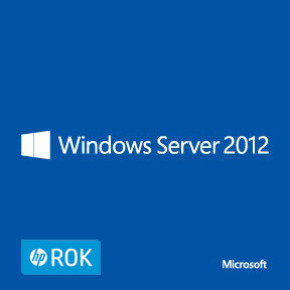 HPE ROK Windows Server 2012 - Remote Desktop Services - 5 User CALs
