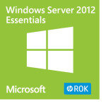 HPE ROK Windows Server 2012 - Essentials