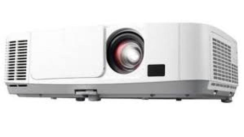 Image of NEC Xga Resolution 3lcd Technology Meeting Room Projector - 4.1k