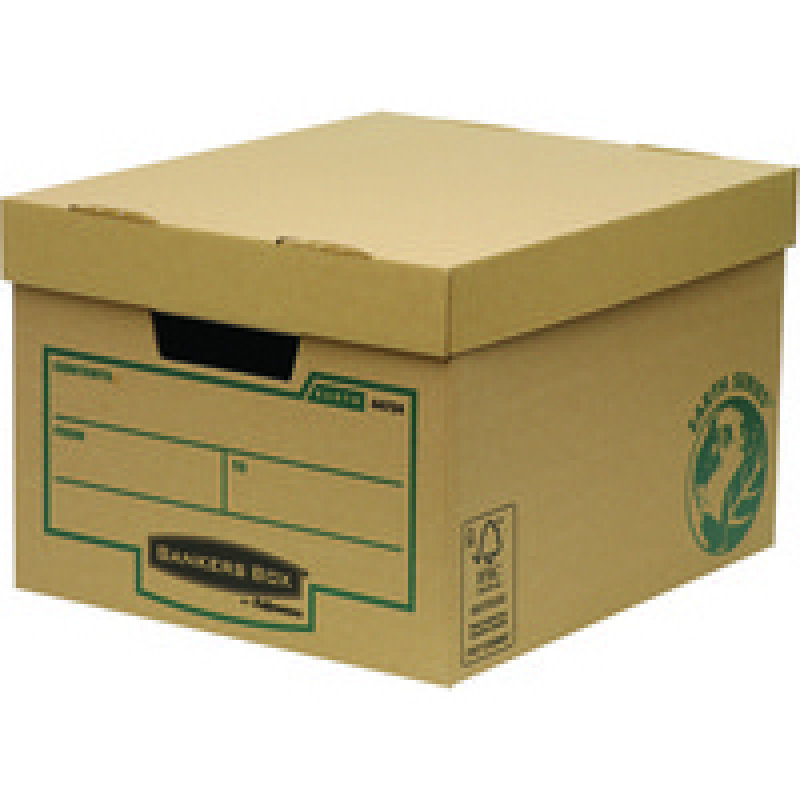 Fellowes Bankers box Earth Series Budget Storage Box - 10 Pack