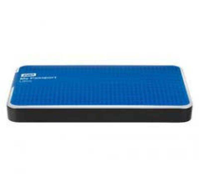 WD My Passport Ultra 500GB USB 3.0 Portable External Hard Drive Blue
