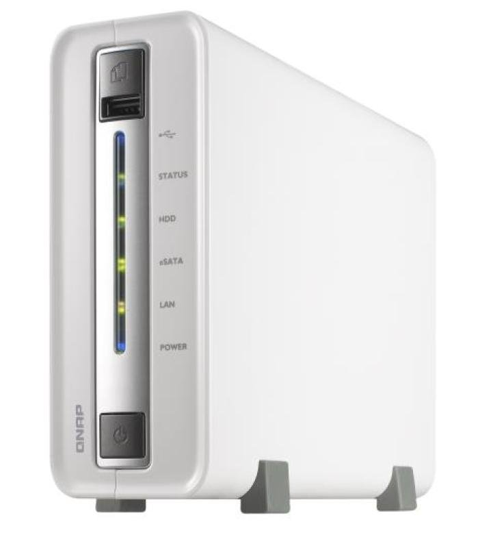 QNAP TS112P 1 Bay Desktop NAS Enclosure