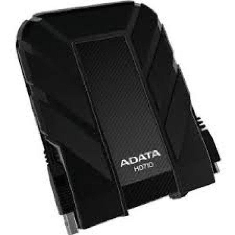 Image of A-Data AHD710-1TU3-CBK 2.5 inch. 1 Tb. DashDrive Durable Series USB 3.0 External Portable Drive