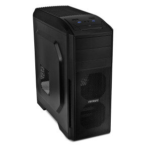 Antec GX-500 ATX Gaming Case 2 x USB3 3 x Fan Black Interior Toolless
