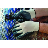 Grey Nitrile Coated Nylon Glove Gi/Nn9