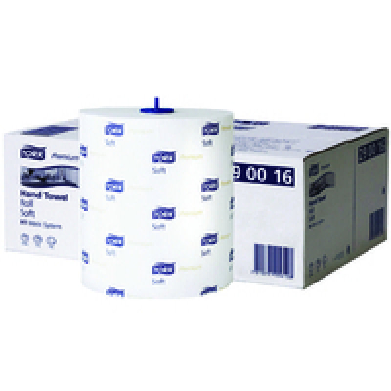 Tork Matic Soft Hand Towel Roll 100m Pk6