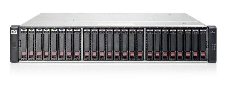 HPE MSA 2040 SAS Dual Controller SFF Storage