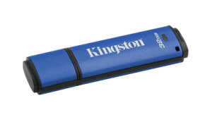 Kingston Technology Data Traveler Vault Privacy USB 3.0 Hardware Encrypted 4GB Secure Flash Drive