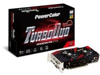 PowerColor R9 270X TurboDuo OC 2GB GDDR5 DVI HDMI DisplayPort PCI-E Graphics card