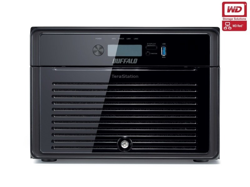 Buffalo TeraStation 4800 TS4800DEU 16TB (8 x 2TB WD Red) 8 Bay Desktop NAS