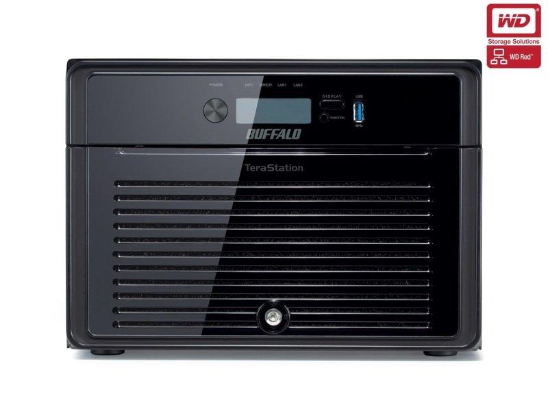Buffalo TeraStation 4800 TS4800DEU 24TB (8 x 3TB WD Red) 8 Bay Desktop NAS