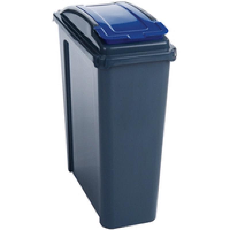 Vfm Recycling Bin 25 Ltr Blue 385286 Pk1