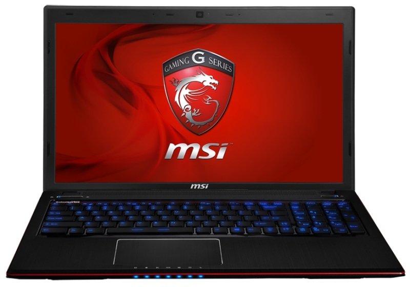 MSI GE60 Gaming Laptop + Corsair Accessories