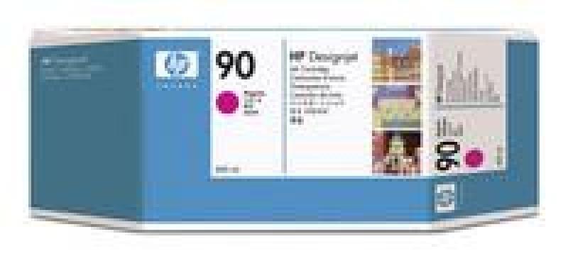 HP 90 Magenta OriginalInk Cartridge - High Yield 400ml - C5063A