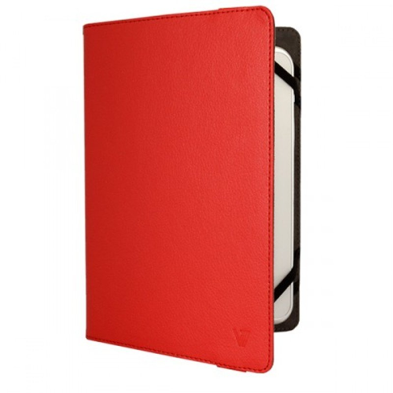 Image of V7 Univ Folio Case Tblt 8in Red - F Most Tablets Upto 8in Lghtwght