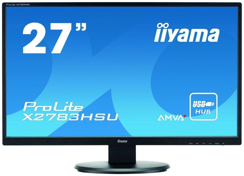 Iiyama Prolite X2783HSU 27&quot LED HDMI Monitor
