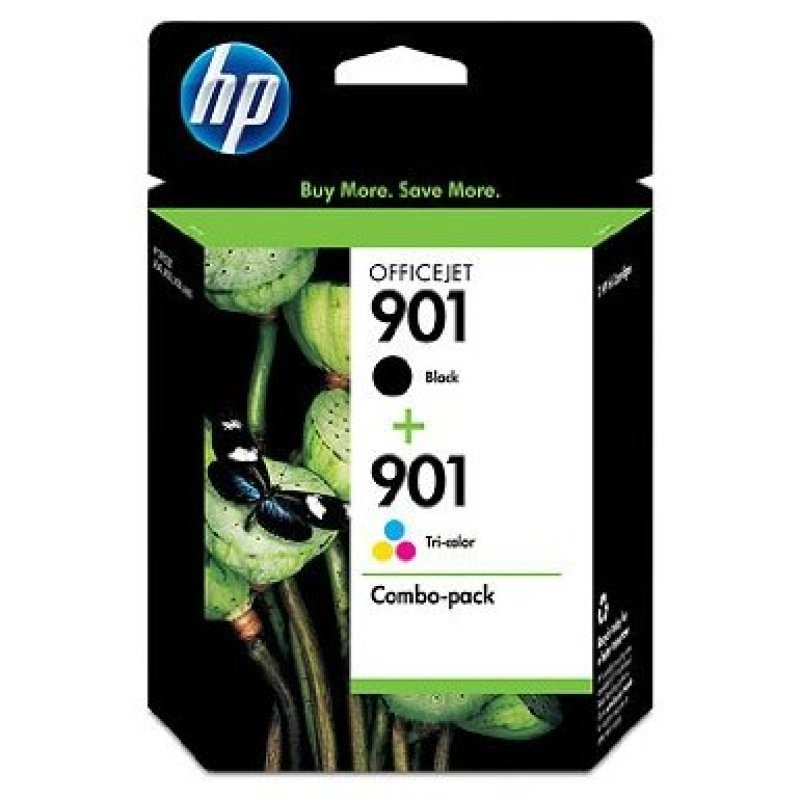 HP 901 Ink Cartridge 2Pack  SD519AE