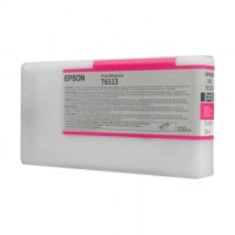 Epson T6533 (C13T653300) Vivid Magenta Original Ink Cartridge