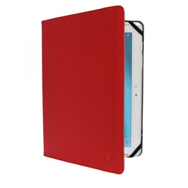 Image of V7 Uni Folio Case Tblt 10in Red - Most Tablets Upto 10in Lghtwght