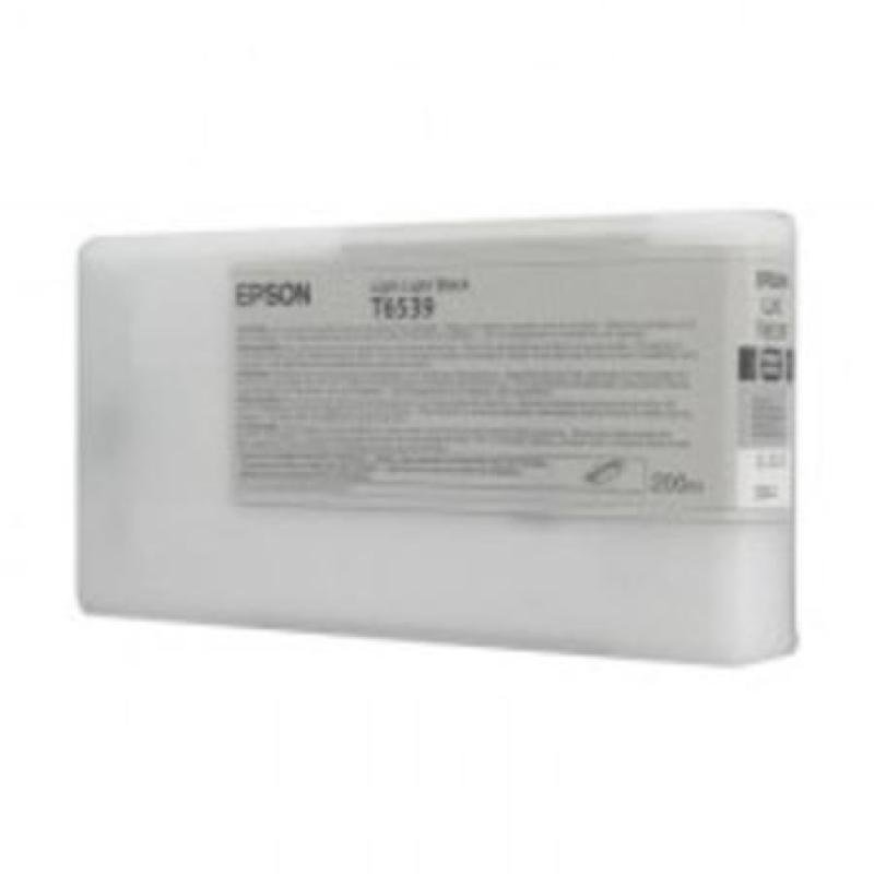 Epson T6539 (C13T653900) Light Black Original Ink Cartridge