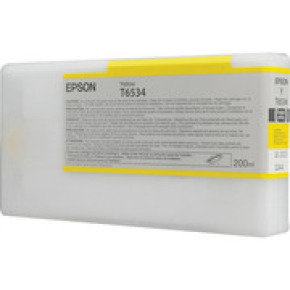 Epson T6534 Yellow Ink Cartridge - (C13T653400)