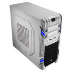 Aerocool GT Advance Mid Tower White USB3 12cm Blue LED Fan Screwless