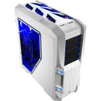 Aerocool GT-S White Full Tower Gaming Case 20cm LED Fan 2xUSB3 Side Window