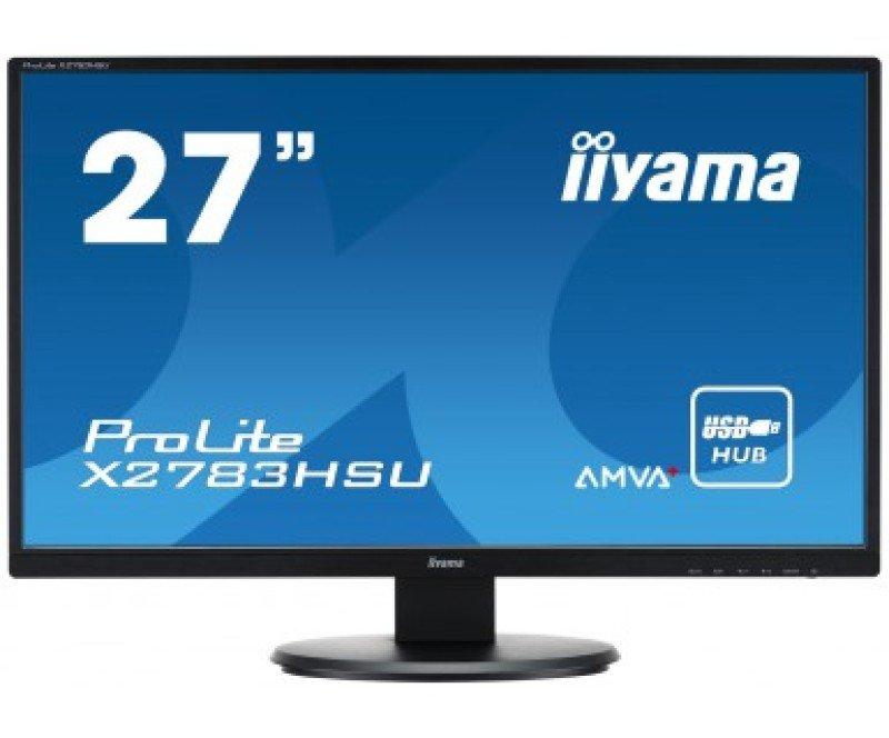 Iiyama Prolite X2783HSUB1 27&quot AMVA LED Monitor