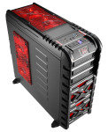 Aerocool Strike-X GT Devil Red Mid-Tower Gaming Case USB3 Toolless Red LED Fans