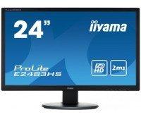 "Iiyama Prolite E2483HS-B1 24"" HD LED HDMI Monitor"